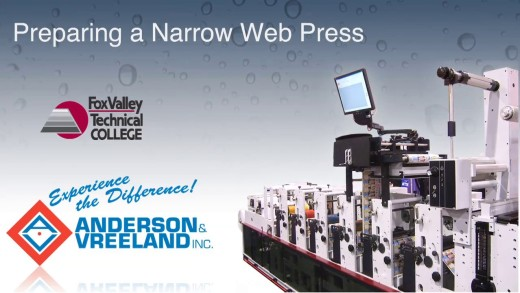 Narrow Web Press Prep